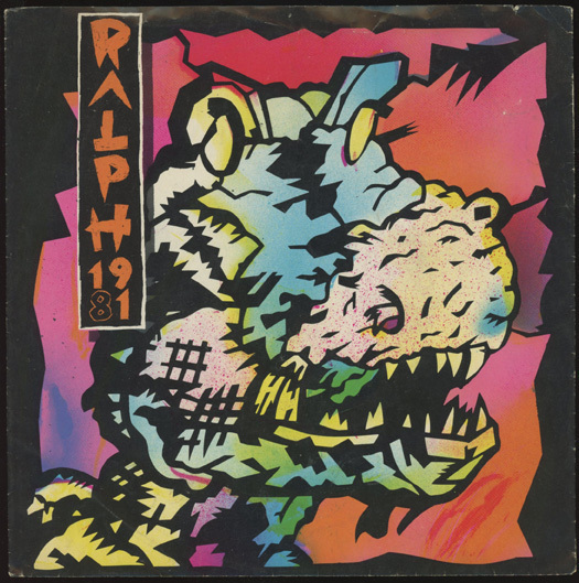 Stephen Kroninger Gary Panter Record Sleeves