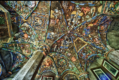 Mercer Tile Works : Art pit stop mercer museum moravian tile works by nancy
